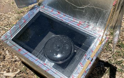 Build a Solar Oven Like This